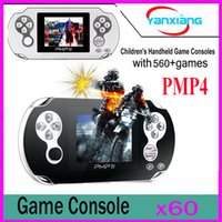 60pcs Classic PMP4 Portable Video Game Player Construit en 560 jeux, Jeux d'arcade de soutien + GBA + SEGA + SFC / NES Games Kids Gift YX-PMP4