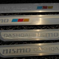 Wholesale Thin Strips Stainless Steel - 2014 Qashqai Stainless Steel Exterior Door Sill Scuff Plate Ultra-thin Threshold Strip Welcome Pedal Car Styling Accessories 4 pcs set