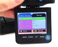 Discount android led lcd - 500PCS 2.5 inch LCD 6LED night vision 120 degree HD car DVR HD198 Car DVR auto vehicle camera digital video recorder Free send DHL