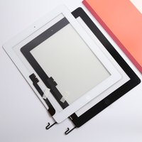 Para iPad 4 Touch Screen Digitizer Panel Substituir com Black Black Repair Part Replacement Free Shipping