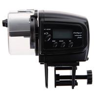 alimentador automático de acuario al por mayor-AF-2009D Dropship LCD digital Automático del tanque del acuario Auto alimentador de peces Temporizador Alimentación de alimentos 2009D Alimentador automático de peces Alimentación de peces (Sin batería)