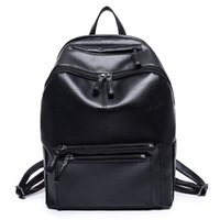 Wholesale Vintage Preppy Backpacks For Girls - Women Backpack High Quality PU Leather Mochila Escolar School Bags For Teenagers Girls Vintage Top-handle Backpacks