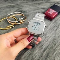 Wholesale Reloj Led Hombre - New Wholesale Watches Casual Fashion LED Bear Watch Los hombres reloj de las mujeres All In Stock
