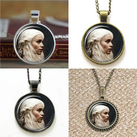 Wholesale Khaleesi Necklace - 10pcs Khaleesi Game of thrones Pendant Necklace keyring bookmark cufflink earring bracelet