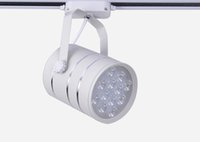 Wholesale Kitchen Wall Lighting Fixtures - Led Track Light Ceiling Spotlights Wall Lamp Fixture Connector For Shopping Mall 5W 7W 9W 12W 18W Warranty 3 Years AC220-240V DHL Free