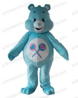 Wholesale Care Bears Parties - AM8142 Care Bear Mascot costume Animal mascot outfit party costumes Customized fur mascot free shipping