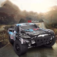 Wholesale Rc 4x4 Trucks - 2016 Wltoys K939 50 KM 1 10 Scale Dual 550 Motor 4X4 4WD 2.4G Dirt Drift Truck Off-Road High-Speed Remote Control RC Car SUV Buggy Big Guy