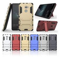 Wholesale S Impact Case - For Huawei Mate S Case Rugged Combo Hybrid Armor Bracket Impact Holster Protective Cover Case For Huawei Mate S