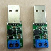 usb boost converter großhandel-2pcs 5W USB 3V-6V 5V bis 12V DC DC Converter Step Up-Boost-Stromversorgungsmodul