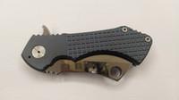 cuchillo plegable de titanio azul al por mayor-Cuchillos personalizados Cuchilla S35VN Fragged Cleaver Cuchillo plegable Perfecto Azul Herramientas de mango de titanio Supervivencia táctica EDC Envío gratis