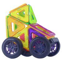 Wholesale Toy Models 34 - odels Building Toy Blocks SuSenGo Big Magnetic Designer Kits 34 41pcs Building Models Toy with Wheel Car Baby Kids Toddlers Educational G...
