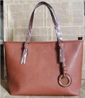 Wholesale Black Cross Rhinestone Purse - famous brand fashion women bags ajs lady PU leather handbags famous Designer brand bags purse shoulder tote Bag female 6821