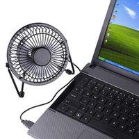 Wholesale Usb Portable Computer Table Fan - Top Selling 2.5W DC5V Mini Mute Quiet Portable USB Desk Table Fan Cooling Cooler Notebook Laptop Computer