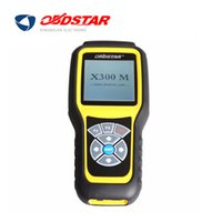 Wholesale Diagnose Obd - OBDSTAR X300M OBDII Odometer Correction X300 M Mileage Adjust Diagnose Tool (All Cars Can Be Adjusted Via Obd) Update By TF Card