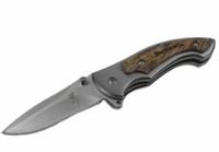 самый маленький коричневый карманный нож оптовых-2016 Браунинг 337 338 339 небольшой складной нож выживания деревянной ручкой EDC карманные ножи открытый спасения тактический подарок ножи F573E