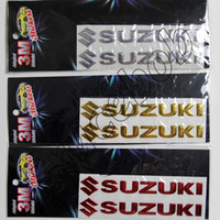 Wholesale Letters For Doors - Hot sale SUZUKI Letter logo 3D Car Stickers Emblem Badge rear Decals for sx4 swift liana jimny grand vitara