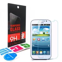 Wholesale Grand Duos Screen Protector - 0.33mm 9H 2.5D Premium Tempered Glass Screen Protector Flim For Samsung Galaxy ACE4 Core Prime G3608 G9098 Grand Duos i9082 with retail-box