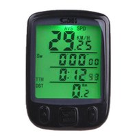 Wholesale Digital Computer Stopwatch - Wholesale-27 Functions Waterproof Digital Backlight Bicycle Computer Odometer Bike Speedometer Clock Stopwatch Bike Computer Free Shipping