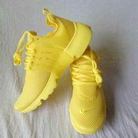 Wholesale New Fashion Fabrics - New 2017 Air Presto Running Shoes Men Women Presto Ultra BR QS Yellow Pink Oreo Outdoor Fashion Jogging Sneakers Size EUR 36-44