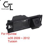 otomobiller için kablosuz park kameraları toptan satış-Hyundai ix35 2009 ~ 2012 Tucson için Kablosuz Gece Görüş CCD HD Araba Dikiz Kamera Park Yardımı