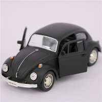 Wholesale Model Car Toys Vw - 1:32 Scale Diecast ABS Metal Cars Models, 12.5cm Pull Back VW Beetle Cars Toys, Toys For Children, Christmas Gifts
