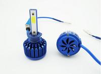 ingrosso lampada auto auto luce h4-COB LED auto luce LED fari ultra luminosi auto LED lampade fari H1 H3 H4 H7 H11 9005 9006 H13 880 881