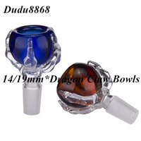 Dragon Claw Glass Bowls Dry Herb Holder Male Joint Smoking Bowl para tubos de água de vidro Oil Rigs Wholesale