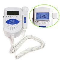 Wholesale Doppler Gel - Sonoline B Fetal heart doppler  Backlight LCD 3mhz with free gel FDA US Seller Prenatal Pocket Fetal Doppler