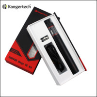 Wholesale Mega Red - 1pc Kangertech Subvod Mega TC Starter Kit 2600mAh Temp Control Battery Mod Kanger 4ML TopFilling Toptank Mini Vape Pen Kit vs Stick One