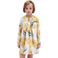 Wholesale European Style Coat Dresses - Kids Clothing Set 2016 Stylish Girls Jacket With Matching Princess Dress Print Winter Girls Set Outwear Coat