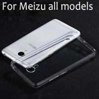 Wholesale Meizu Mx4 - for Meizu M3 note case MX5 MX6 MX4 Pro 6 Pro 5 M2 Metal M1 note cover transparent clear soft TPU good flexible