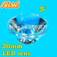 Wholesale LED spotlight lens mm degree celling light lens flat transparent lens brand new and high quality free ship
