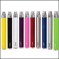 Wholesale Vision V2 Ce5 - ego-c twist battery electronic cigarette 650mah 900mah 1100mah 1300mah vision spin large capacity for vivi nova V2 CE4 CE5 Mt3 X9 H2