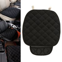 Wholesale Winter Car Seat Covers Cushions - Universal Soft Warm Anti Slip Car Seat Chair Mat Cover Cushion Pad Protector Winter Plush Mat Auto Interior Accessories