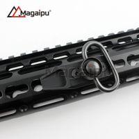 Wholesale Rail Sling Swivel Mount - Ultra Lightweight Key-mod Free Floating Handguard NSR Rail Mount with QD sling swivel
