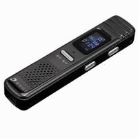 mikrofon rengi toptan satış-Altın renk Mini Dijital Ses Kaydedici Ses Kaydedici 8 gb MP3 çalar Mikrofon inşa Hoparlör USB Disk tekrarlayıcı fonksiyonu