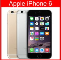 Wholesale Multi Touch Cellphone - Unlocked Original 4.7''5.5''iPhone 6 Plus Dual Core 1GB RAM 16GB 64GB 128GB ROM 8MP 1080p Multi-Touch WCDMA 4G LTE Cellphone without Touch