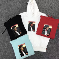2018 NEW Best version Michael Jackson Hoodies sup Uomo Donna New Style Michael Hip Hop Pullover Moda Michael Jackson Felpe con cappuccio S-XL