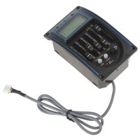Wholesale Guitar Preamp Tuner - Electric Guitar Preamp Amplifier EQ Equalizer Guitar Pickup Tuner LC5 Band Acoustic