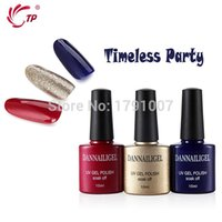 Wholesale Cuticle Oil Top Coat - trench Dannailgel Timeless Party Long Lasting Soak Off UV Polish Gel+Base +Top Coat Tool Kit with File Remover Pad Cuticle Oil Pen