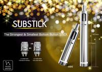 Wholesale Mini Vamo - 100% Original HUGO VAPOR Substick mini Kit 2600mAh Battery 2.5ml Capacity Vape Pens VS EGO One Vamo One dry herb vaporizer kit