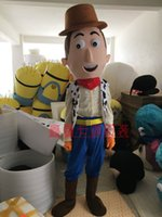 Wholesale japanese anime characters - Sell high quality play a cartoon garment cowboy characters mascot costume adult size, free shipping