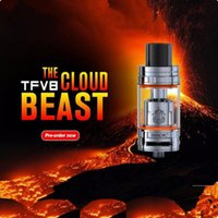 Wholesale Tfv4 Coils Clone - Smok TFV8 Atomizer clone Smok TFV8 tank 6ml Cloud Beast Tank With V8-T8 V8-Q4 Coil Head Best Updated TFV4 Tank