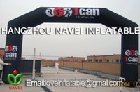 Wholesale 8m Inflatable Arch Archway with Your LOGO for advertising Promotion free CE UL blower