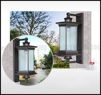 Wholesale European Light Switch - European Waterproof Garden Wall Lamp Outdoor Lights Balcony Lights Luxury Villa Lighting Aisle Lamps