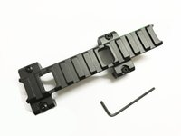 Top 20mm Picatinny Weaver Rail Extension Scope Mount Claw G3 MP5