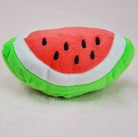 Wholesale Dog Ball Toy Squeak - Toys for dogs Watermelon Squeaks Balls Cats Sound Toys for Small Dog Korean Design Fashion Pet Accessorry from China Supplier L033