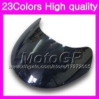 Wholesale Rgv Vj23 - 23Colors Windscreen For SUZUKI RGV-250 VJ23 RGV 250 97 98 RG V250 R GV250 RGV250 1997 1998 Chrome Black GPear Smoke Windshield