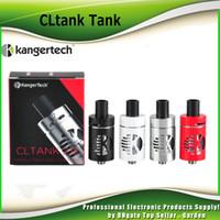 Wholesale Authentic Children - Authentic Kanger Cltank Tank Kangertech Cl tank 2.0ml 4.0ml atomizer Child Lock Top Filling POM Drip Tip Atomizer genuine 100% 2211060