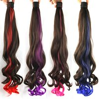 Wholesale Hot Selling Ponytail quot cm Fashion For Ponytails Hairpieces Waves Synthetic Hair Extension New